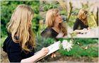 den Frühling zeichnen (Collage)