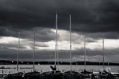 Den guten Seemann zeigt das schlechte Wetter.
