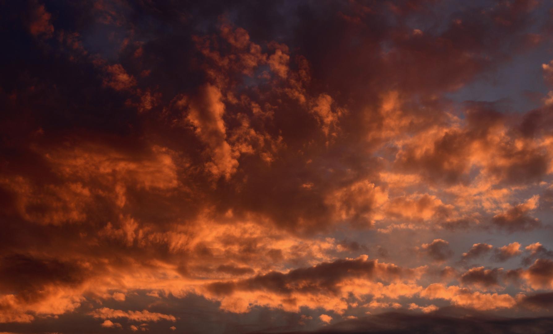 Den Himmel beobachten..