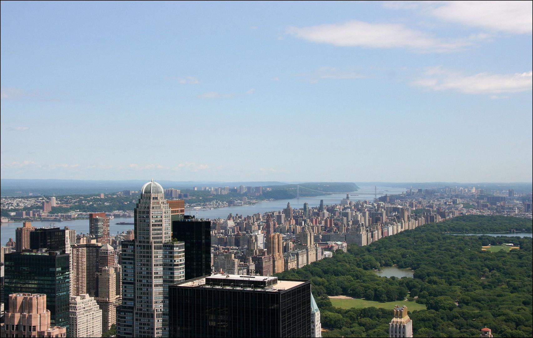 Den Hudson-River entlang.....