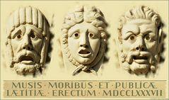 Den Musen, den guten Sitten und dem öffentlichen Vergnügen