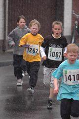 Den richtigen Sportler stört auch der Regen nicht
