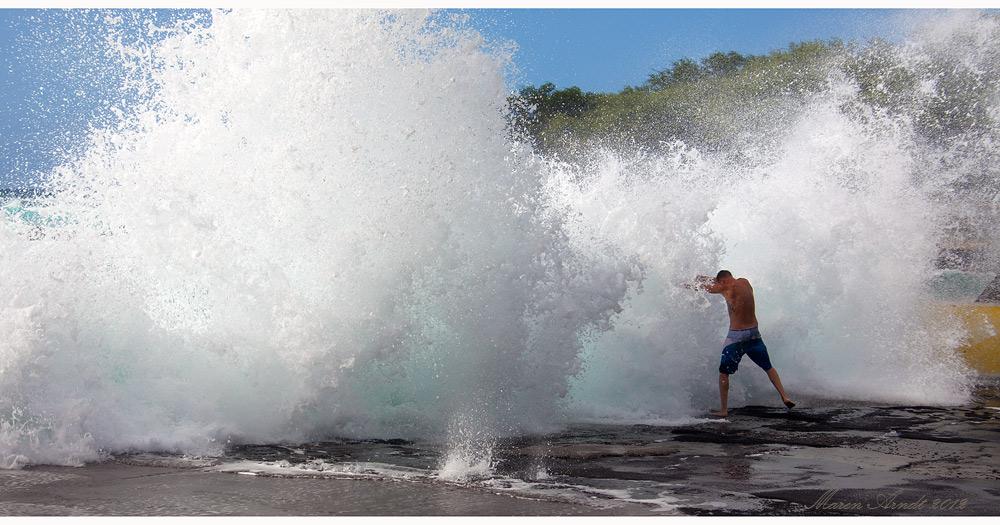 Den Wellen trotzen