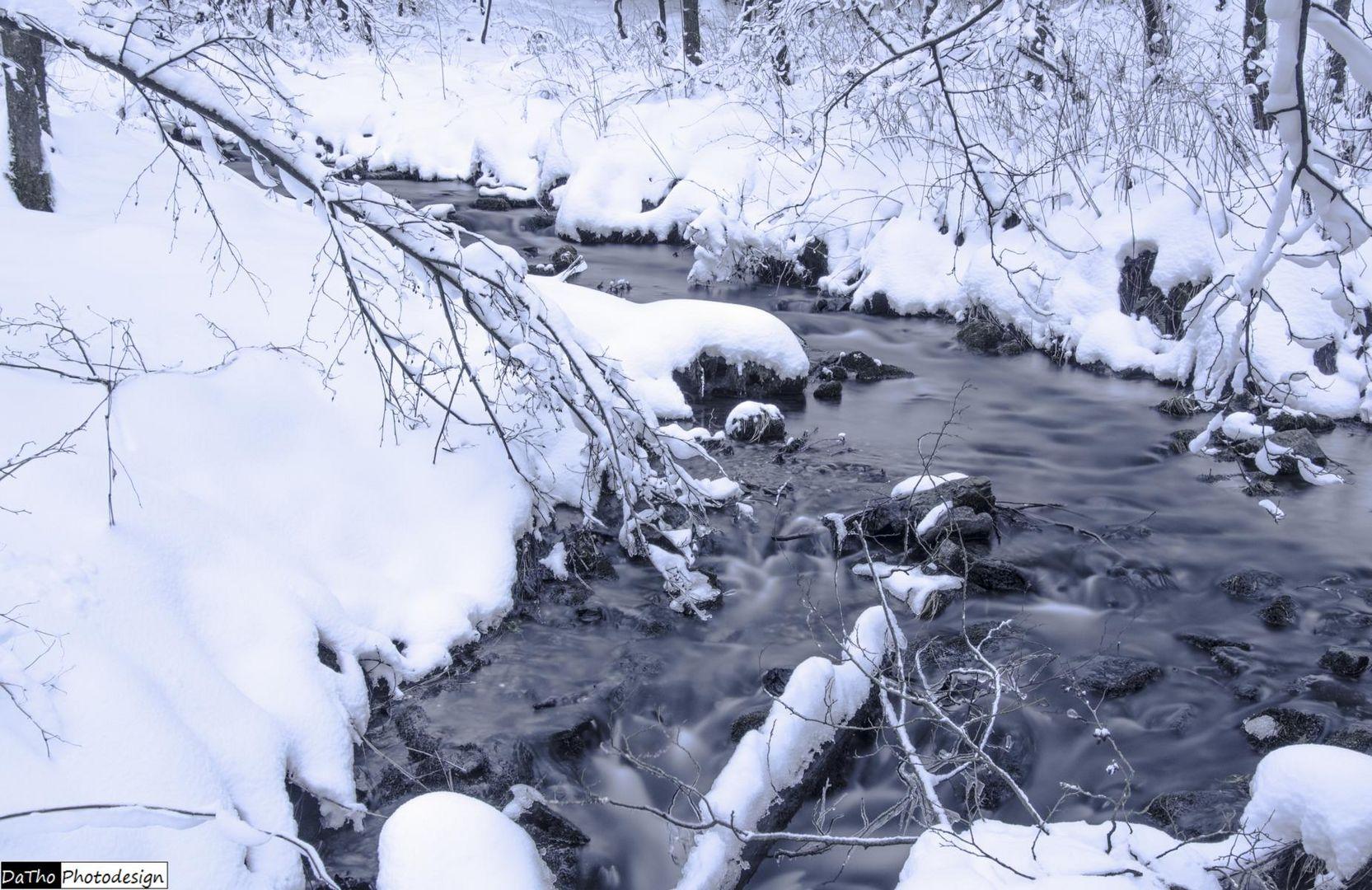 Den Winter mal eingefangen