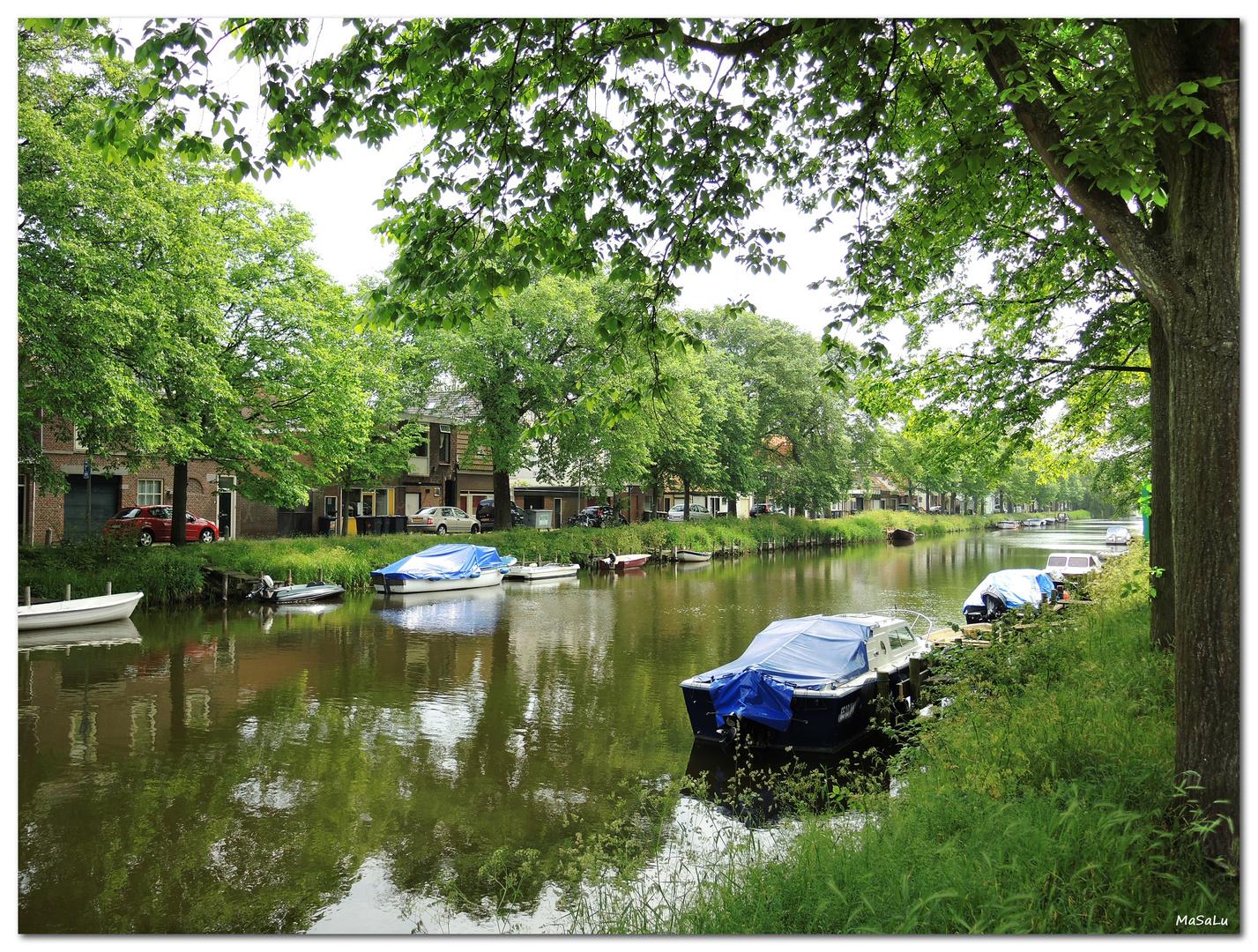 DenHelder -kleiner Kanal