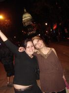 denisa and me in madiso,wi