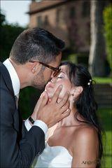 Denise e Riccardo.