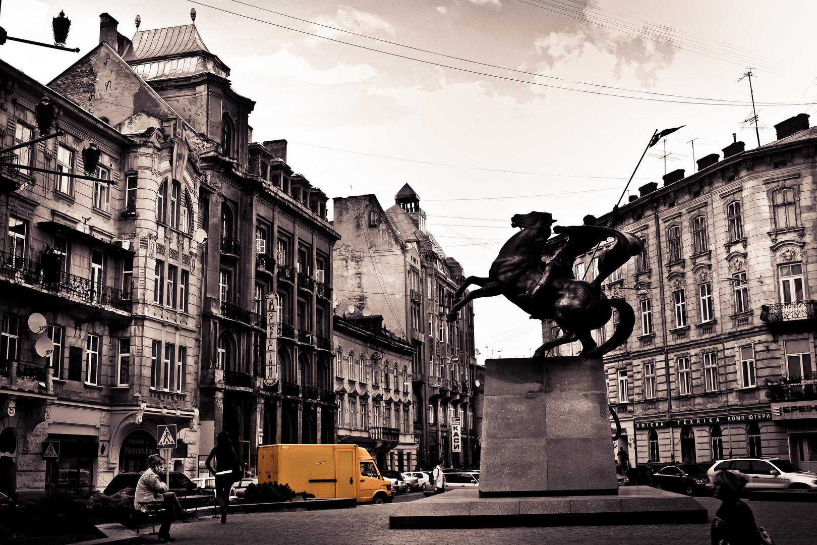 Denkmal der Miliz