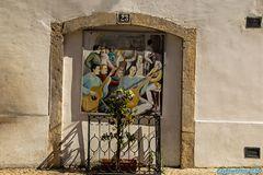 Denkmal für den Fado Alfama Lisboa