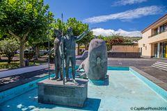 Denkmal für die Walfänger in Capelas