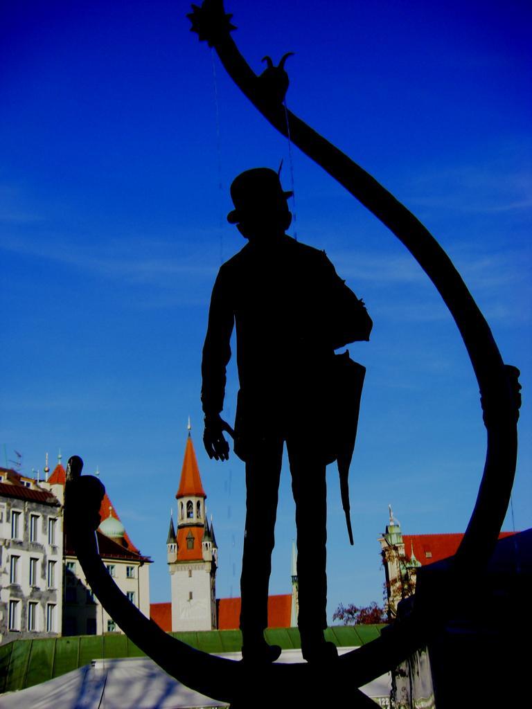 Denkmal Karl Valentin Viktualienmarkt