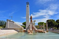 Denkmal zur Nelkenrevolution in Lissabon