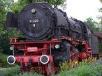 Denkmallok Baureihe 01 220 in Treuchtlingen