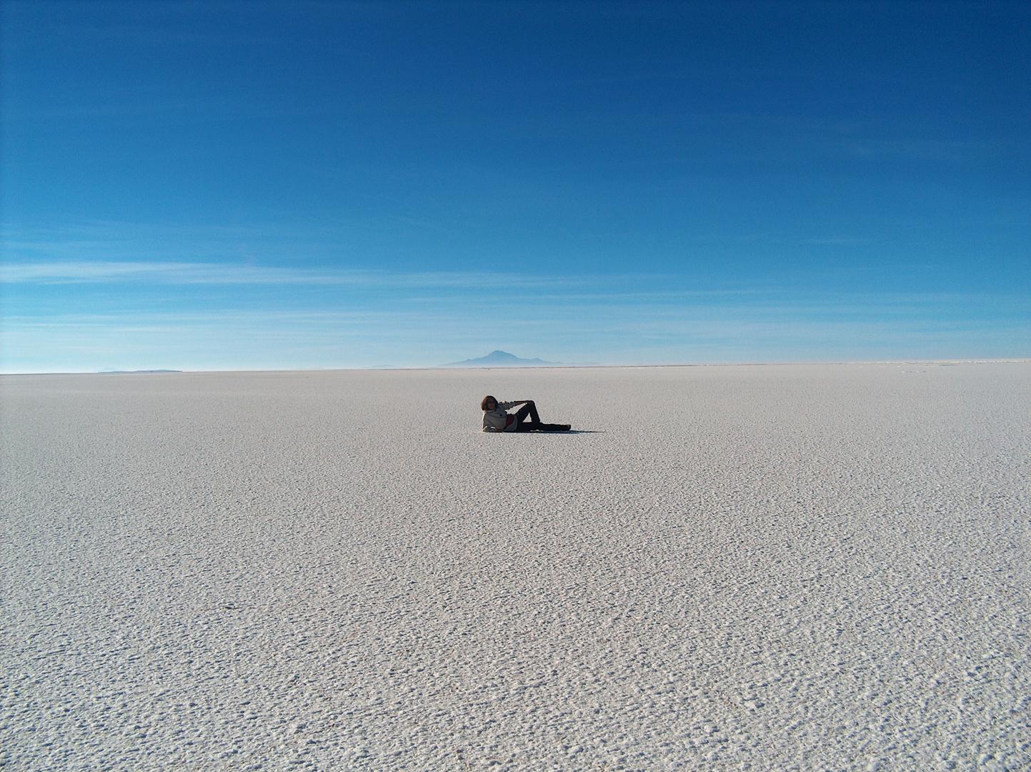 Dentro il deserto di sale