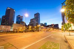 Denver in den frühen Morgenstunden