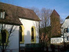 Denzlingen: die ersten zwei katholischen Kirchen