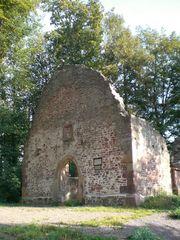 Denzlingen: die Ruine der St. Severins-Kapelle auf dem Mauracherberg
