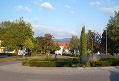Denzlingen: Kreisverkehr Città della Pieve