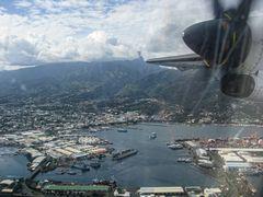 Départ à Papeete