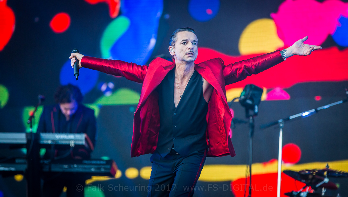 Depeche Mode - Dave Gahan - live in Leipzig 2017