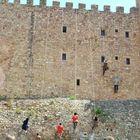 Deporte Extremo Medieval, Escalada de muros