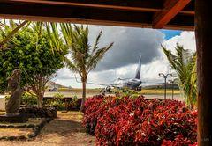 Der abgelegenste Flughafen