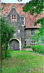 """der älteste Teil der Schlossanlage """"Haus Steinfurt"""""""