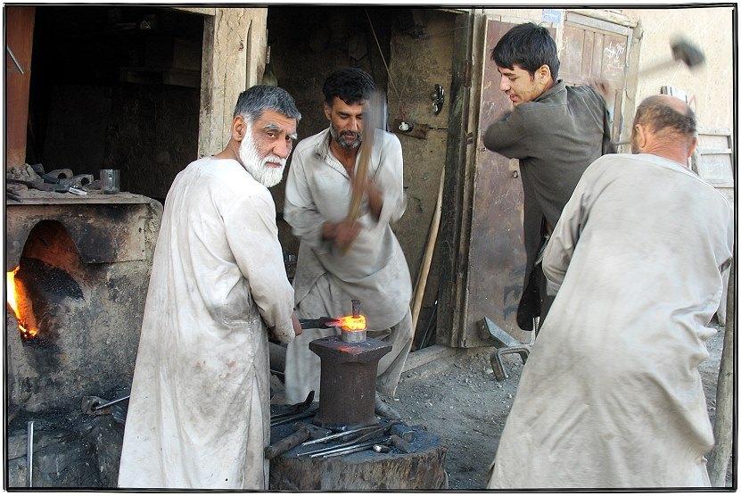 Der afghanische Schmied......
