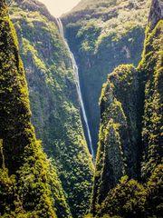 Der Ahuii-Wasserfall