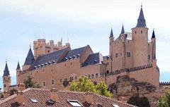 Der Alcázar von Segovia ...