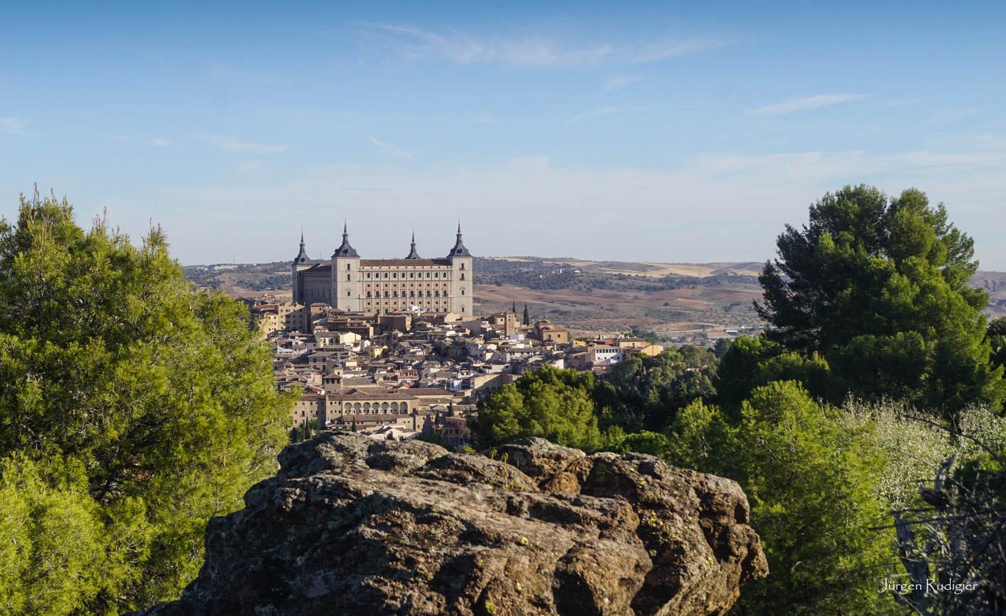 Der Alcazar von Toledo /Spanien