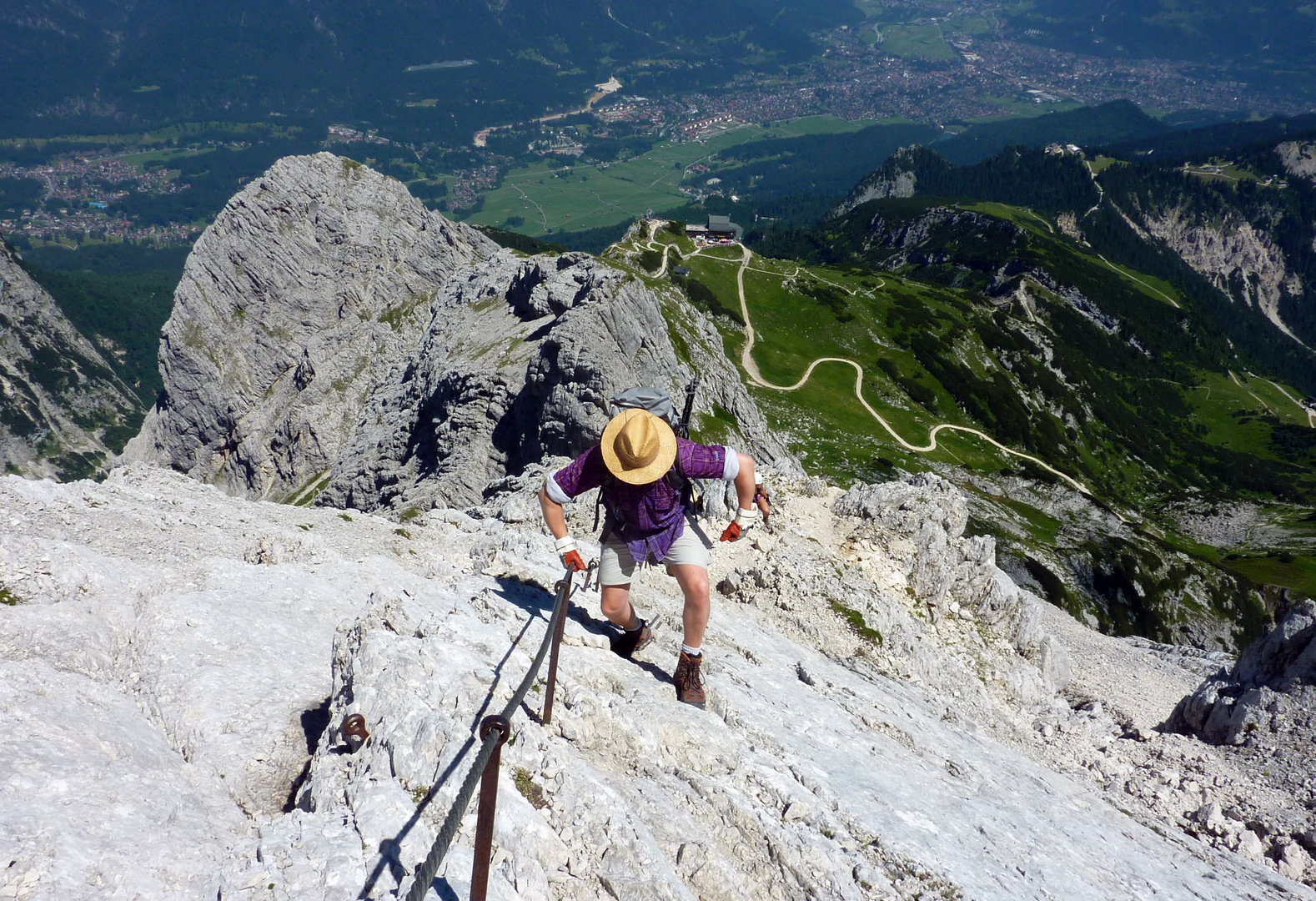 Der Alpspitzschreiter