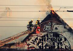 Der Alptraum eines Feuerwehrmannes...