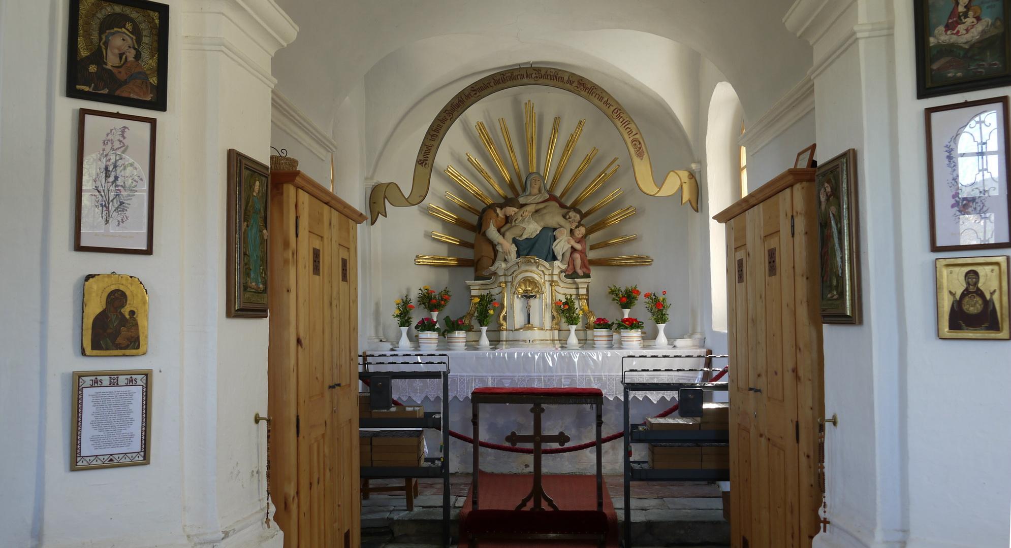 """Der Altar der Kapelle """" Maria Elend """""""