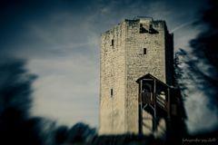 ... der alte Bergfried ...
