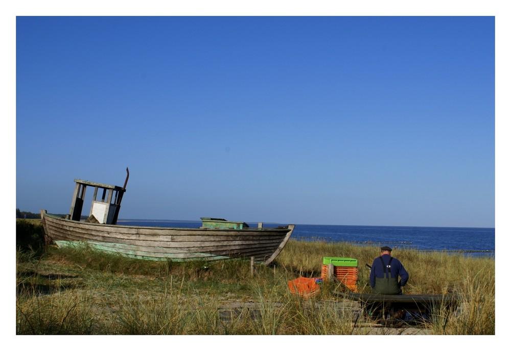 Der alte Fischer und das Meer