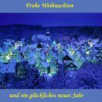 """Der """"Alte Flecken"""" - Altstadt von Freudenberg - zur """"Blaue Stunde"""""""