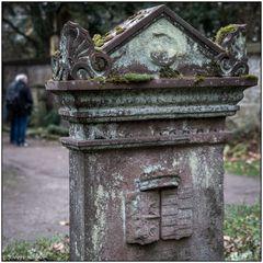 Der alte Friedhof in Freiburg 04