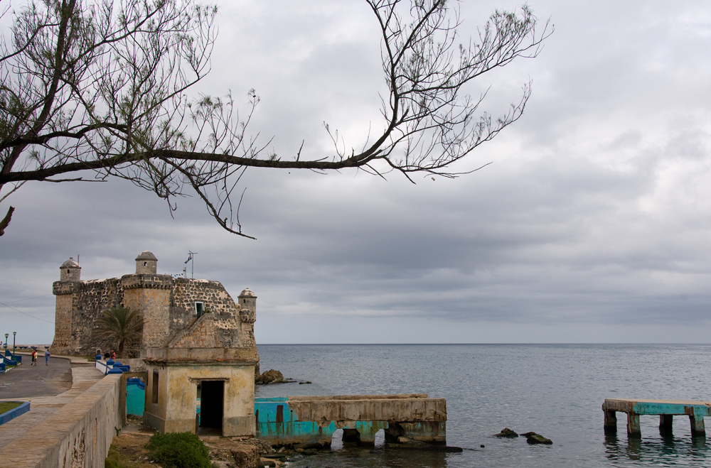 Der alte Hafen und das Meer