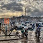 Der alte Hafen von Marseille...