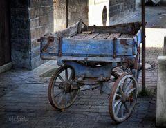 Der alte, kleine Wagen