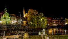 Der alte Kran in Lüneburg