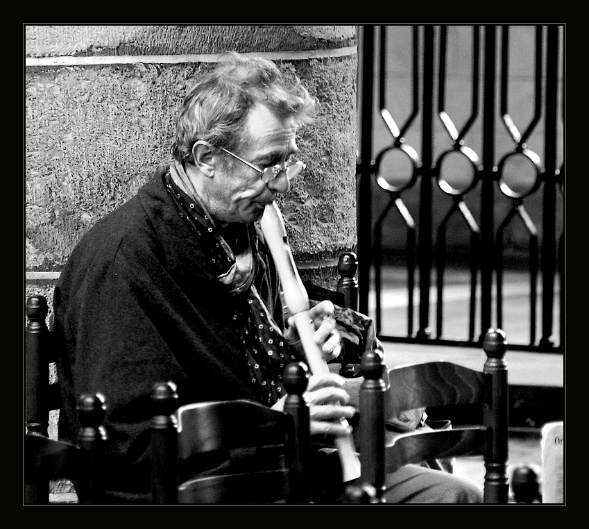 Der alte Mann und die Flöte