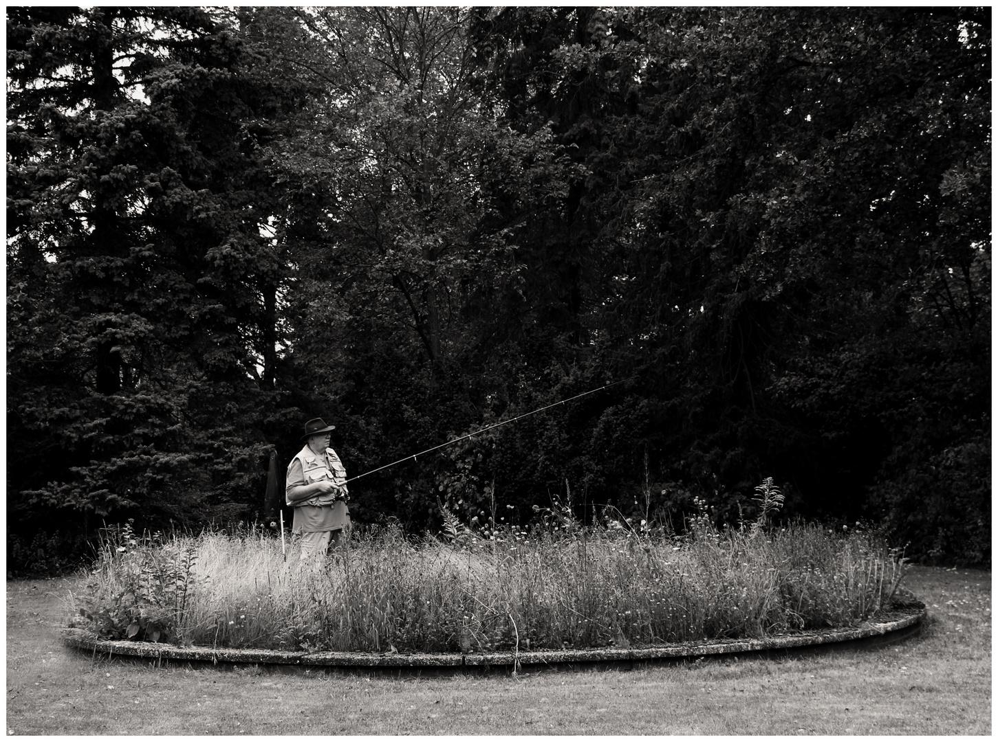 Der alte Mann und die Wiese.....