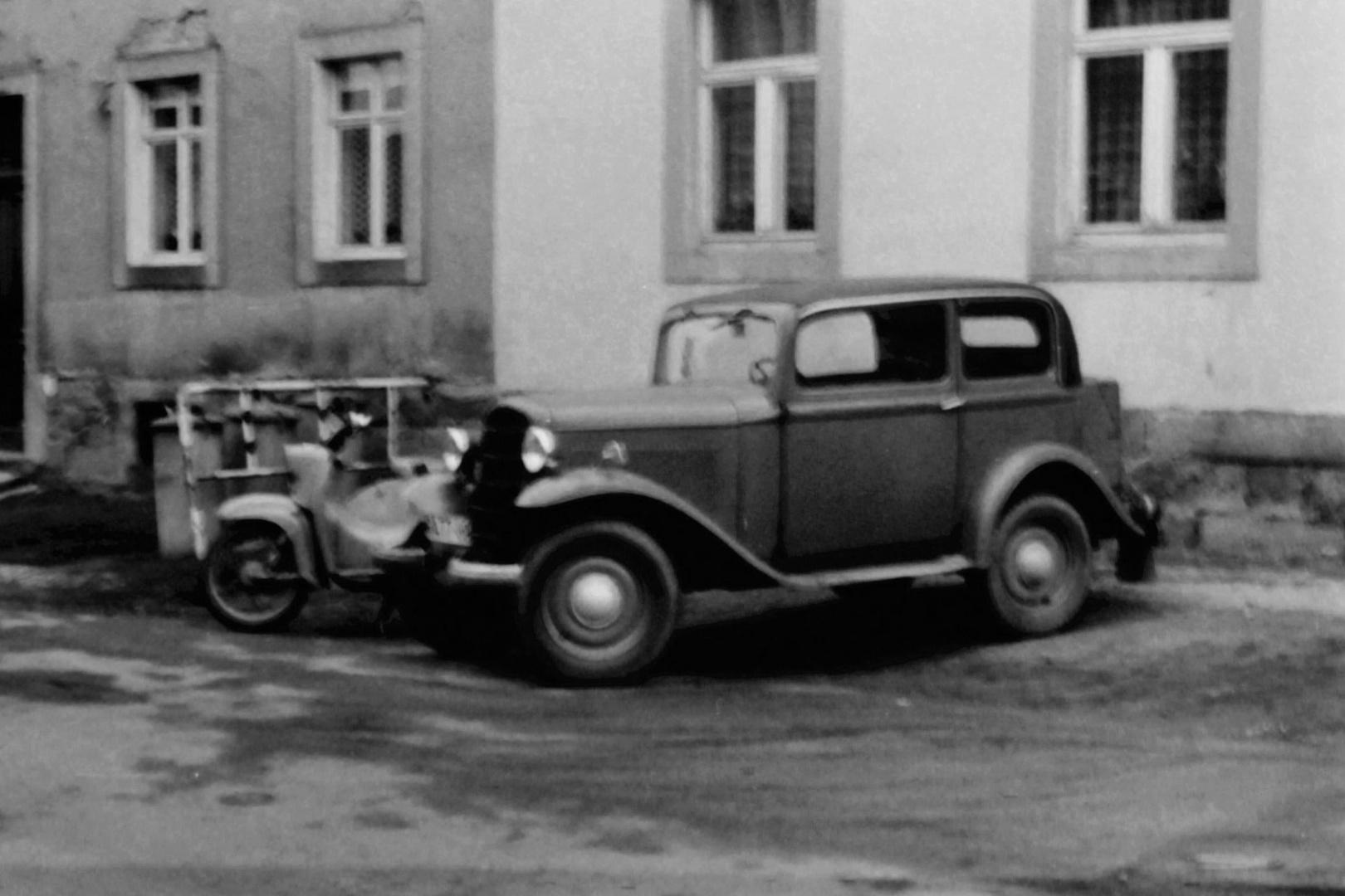 Der alte Opel P 4