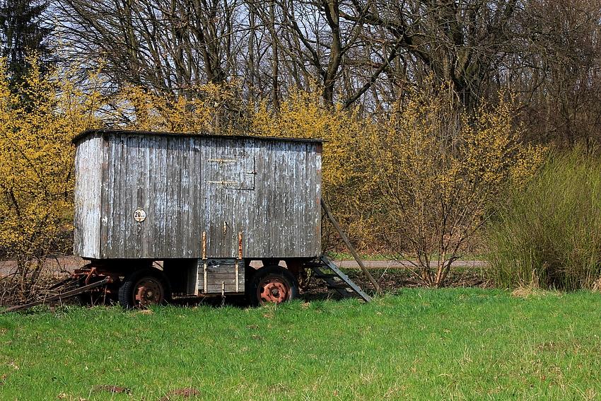 Der alte Schäferwagen