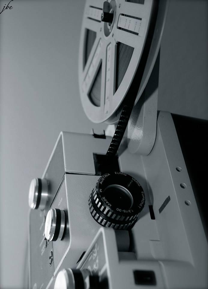 Der alte Super 8 Projektir