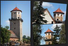 ...Der alte Wasserturm in Barby...