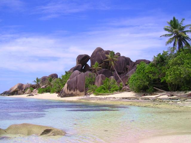 Der Angeblich Schonste Strand Der Welt Foto Bild Africa Eastern