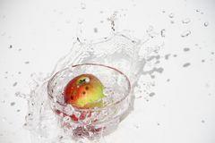 Der Apfel fällt zwar nicht weit vom Stamm, aber in´s Wasser